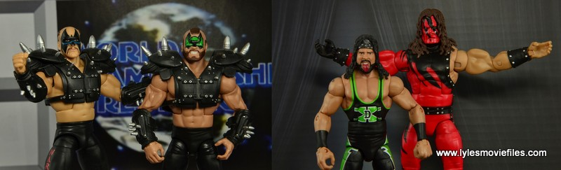 Road Warriors vs Kane and X-Pac