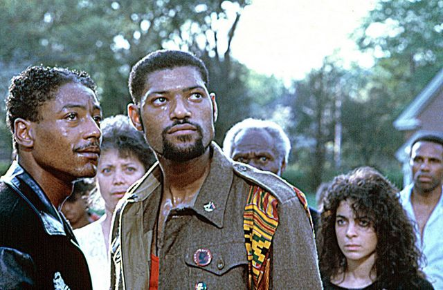 School Daze - Giancarlo Esposito and Laurence Fishburne