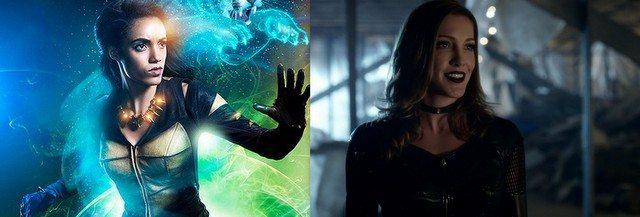 Season 3 Legends of Tomorrow swaps - Black Siren for Vixen