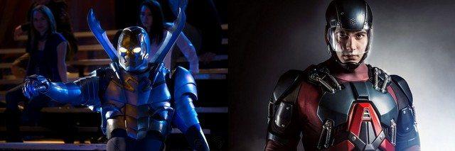 Season 3 Legends of Tomorrow swaps -Blue Beetle for Atom