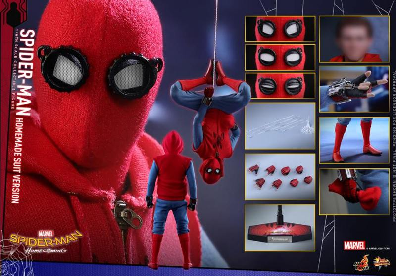 Spider-Man Homecoming Homemade Suit - collage