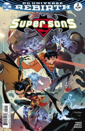 Super Sons #2 cover