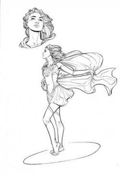 Supergirl_DC Cover Girls_Joelle Jones