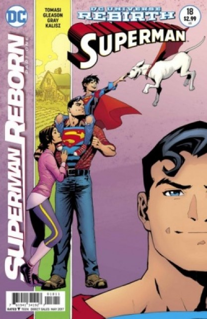 Superman #18 cover