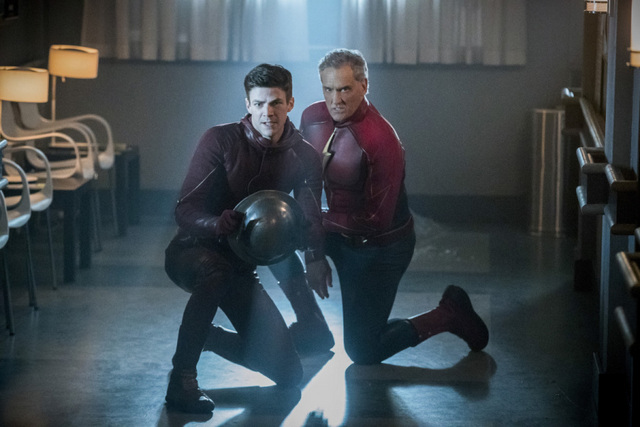 The Flash Into the Speed Force - Barry and Jay