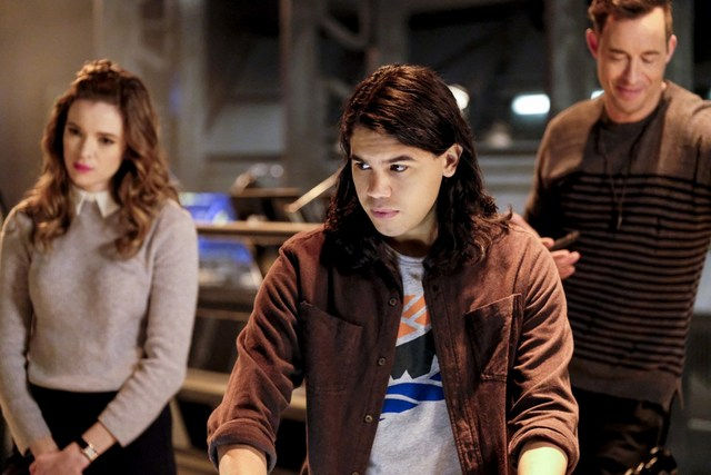 The Flash - The Wrath of Savitar - Caitlin, Cisco and HR