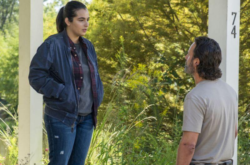 The Walking Dead Say Yes - Tara and Rick
