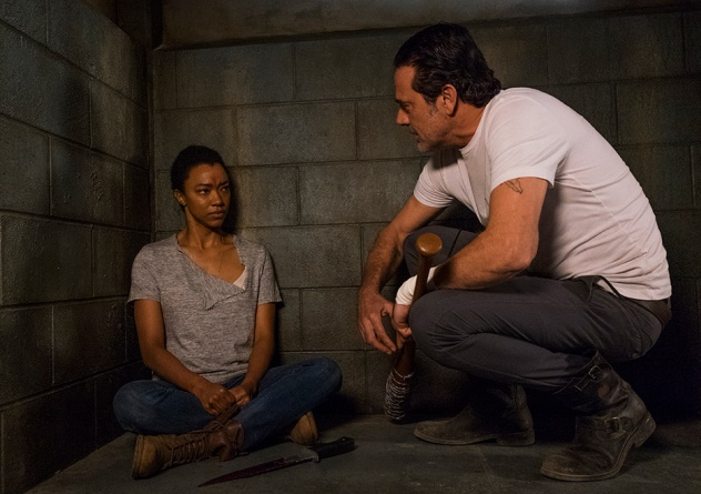 The Walking Dead Something They Need - Sasha and Negan
