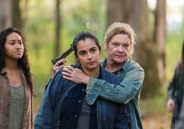 The Walking Dead Something They Need -Tara and Natania