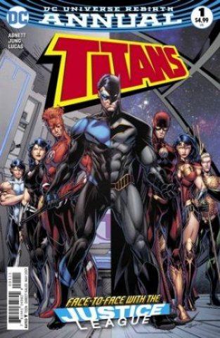 Titans Annual #1 cover