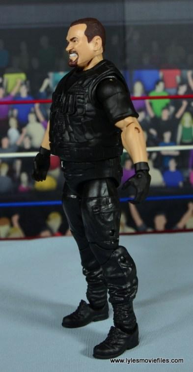 WWE Elite Big Boss Man figure review - left side