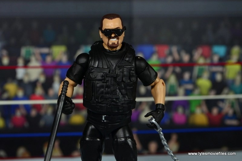 WWE Elite Big Boss Man figure review - with accessories