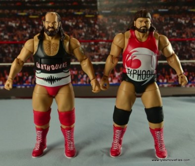 WWE Elite Natural Disasters figure reviews - front