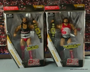 WWE Elite Natural Disasters figure reviews - package front