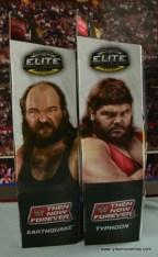 WWE Elite Natural Disasters figure reviews -package side