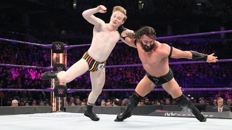 WWE Fastlane 2017 - Neville vs Jack Gallagher