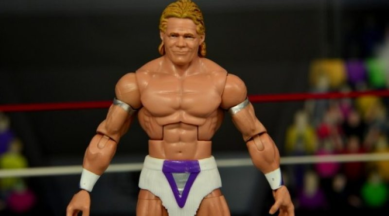 WWE Narcissist Lex Luger figure review - main pic