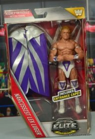 WWE Narcissist Lex Luger figure review - package front