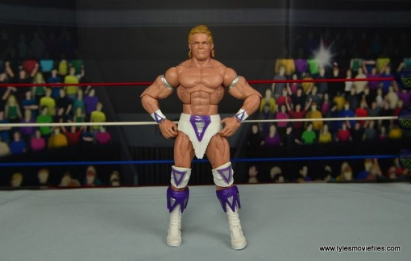 WWE Narcissist Lex Luger figure review - wide pose