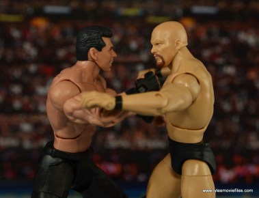 WWE Network Spotlight Vince McMahon figure review -brawling with Stone Cold