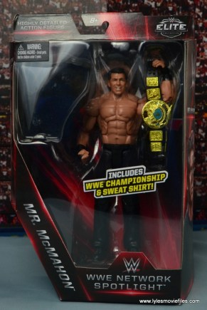 WWE Network Spotlight Vince McMahon figure review -package front