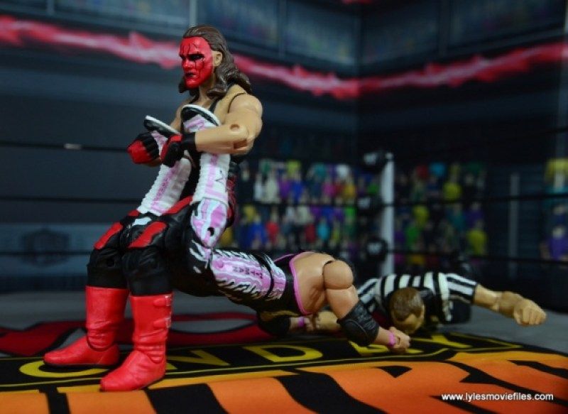 WWE Wolfpac Sting figure review -Scorpion Deathlock to Bret Hart
