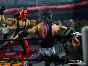WWE Wolfpac Sting figure review -Stinger Splash to Bret Hart 2