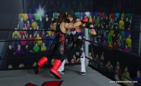 WWE Wolfpac Sting figure review -Stinger Splash to Bret Hart