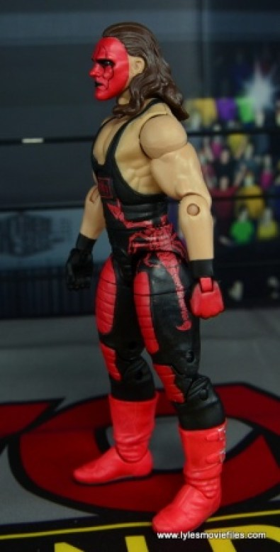 WWE Wolfpac Sting figure review -left side
