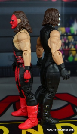 WWE Wolfpac Sting figure review -scale to Crow Sting