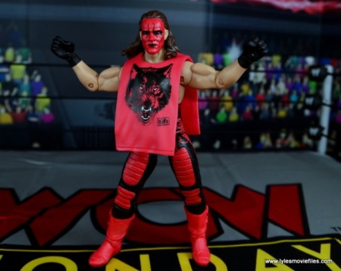 WWE Wolfpac Sting figure review -with Wolfpac shirt