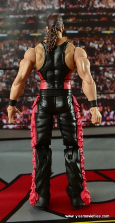 WWE nWo Wolfpac Kevin Nash Elite figure review - rear