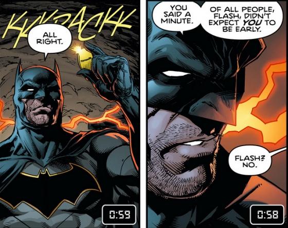 Batman #21 interior art