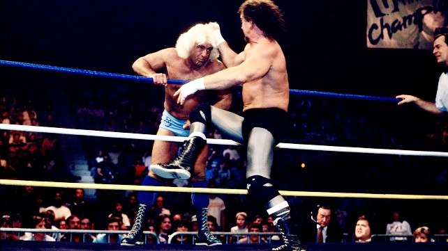 Clash of Champions New York Knockout - Flair vs Funk