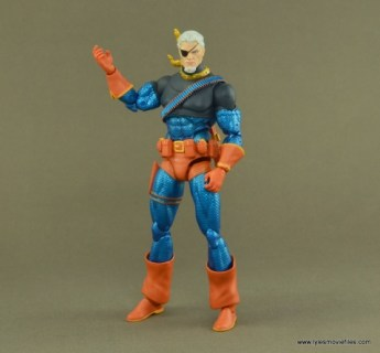 DC Icons Deathstroke the Terminator figure review -unmasked