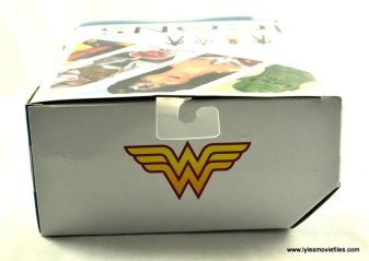 DC Icons Wonder Woman figure review -package top