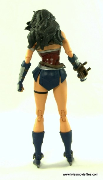 DC Icons Wonder Woman figure review -rear