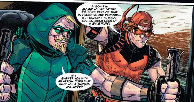 Green Arrow #20 interior art