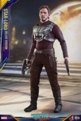 Hot Toys Guardians of the Galaxy Vol. 2 Star-Lord deluxe figure -jacket off