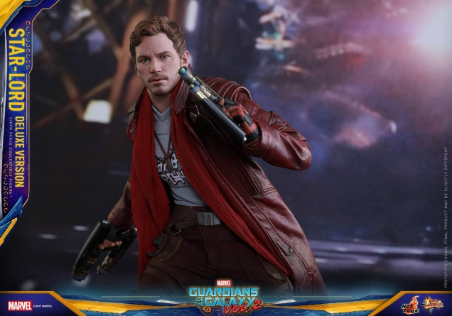 Hot Toys Guardians of the Galaxy Vol. 2 Star-Lord deluxe figure -main