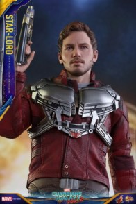 Hot Toys Guardians of the Galaxy Vol. 2 Star-Lord figure -looking up