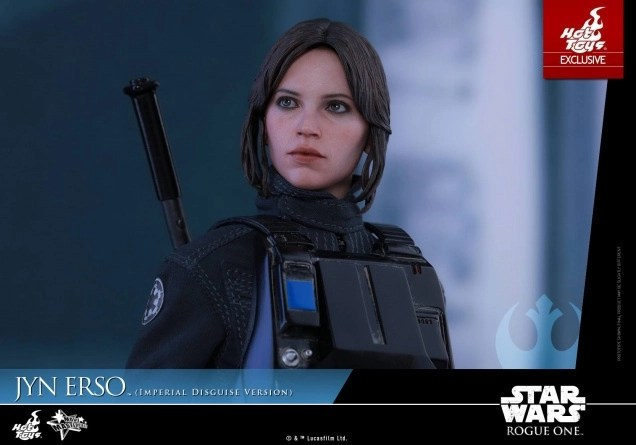 Hot Toys Jyn Erso Imperial Disguise figure main pic
