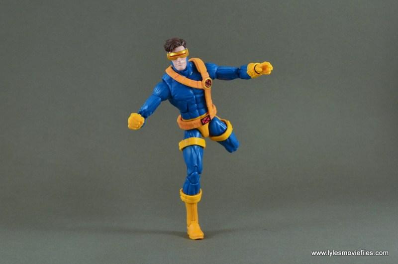 Marvel Legends Cyclops figure review -running