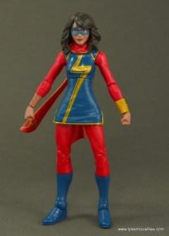 Marvel Legends Ms. Marvel figure review - front side