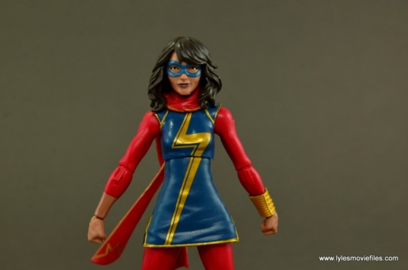 Marvel Legends Ms. Marvel figure review -main pic