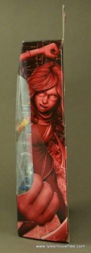 Marvel Legends Ms. Marvel figure review -package side