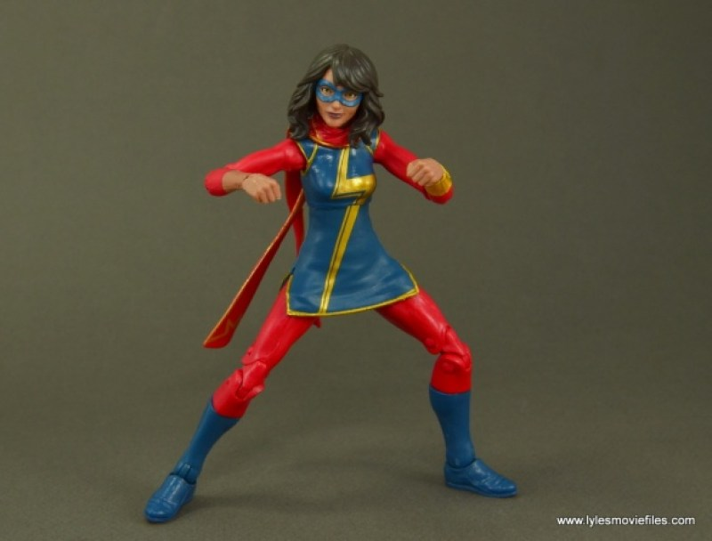Marvel Legends Ms. Marvel figure review - ready to get down