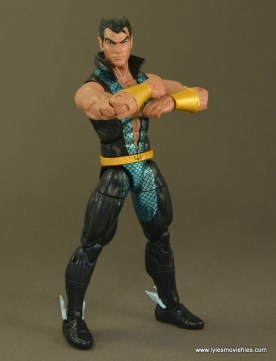 Marvel Legends Namor figure review -arms folded