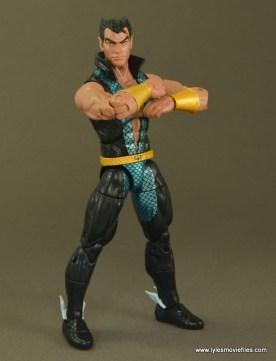 Marvel Legends Namor figure review -arms folded