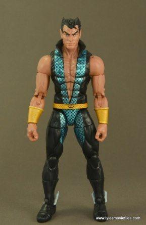 Marvel Legends Namor figure review - front side